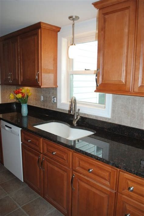 vinyl kitchen backsplash maple cabinets brown granite tile backsplash vinyl
