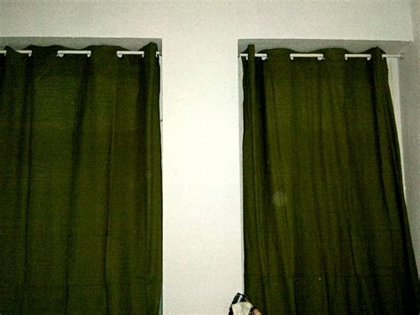 Hanging Curtains Without Drilling How To Hang Curtains From Ceiling Without Drilling Home Design Ideas