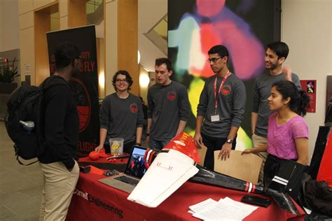 dominos  drones reverse career fair displays student engineering talent  cornell