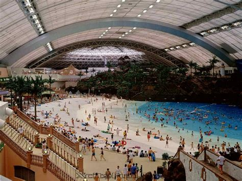 largest beach in the world ocean dome world s only indoor beach japan xcitefun net