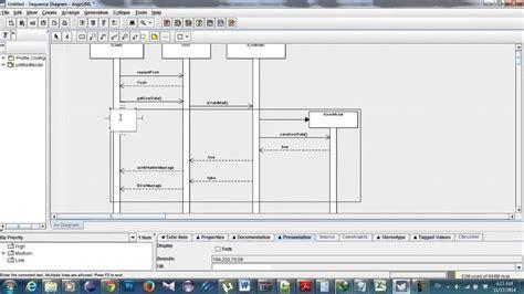 argouml class diagram swe1 alt in argouml sequence diagram