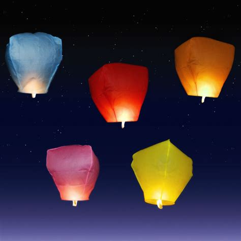 candele volanti lanterne cinesi rosa