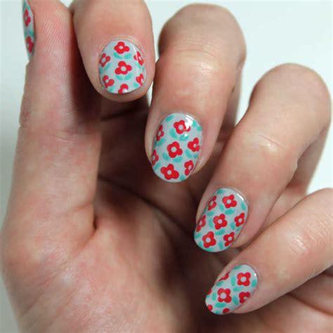 imagenes de uñas acrilicas con flores 10 dise 241 os de u 241 as con flores paso a paso nailistas