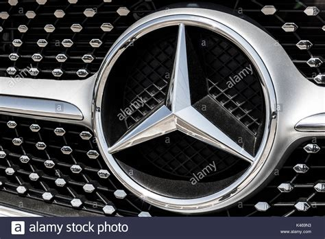 logo mercedes benz 2017 indianapolis circa august 2017 mercedes benz logo