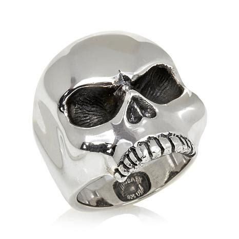 Skull Ring King king baby jewelry sterling silver skull ring 7756583 hsn