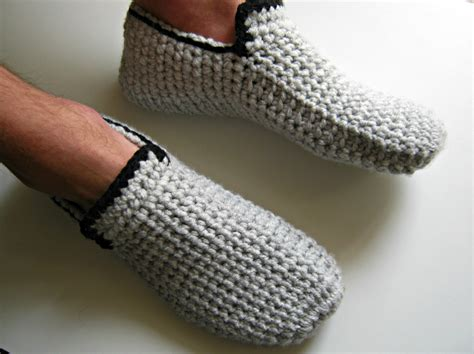 mens house shoes men s house shoes crochet men s slippers crochet loafers