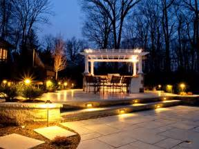 patio lighting best patio garden and landscape lighting ideas for 2014