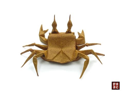 How To Make Origami Crab - origami ghost crab by origamikuenstler on deviantart