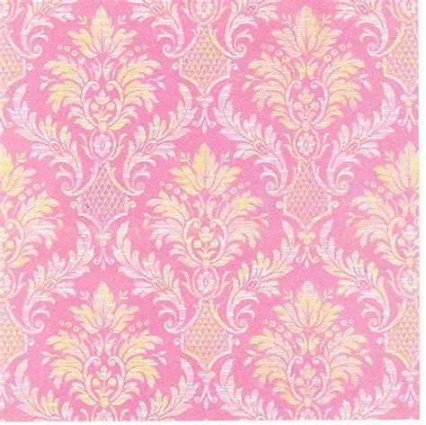 pink victorian pattern pink and yellow damask diy free fonts printables