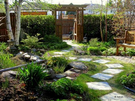 Backyard Garden Design Ideas Decoor Back Yard Landscaping With Garden