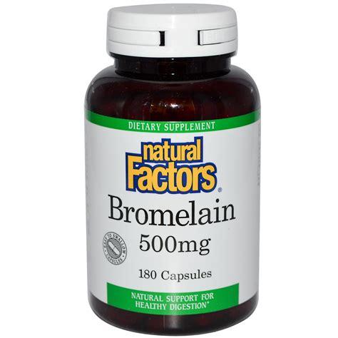 Suplemen Bromelain factors bromelain 500 mg 180 capsules iherb