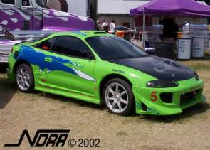 Fast And The Furious Mitsubishi Eclipse Fast Auto Fast And Furious Eclipse Car
