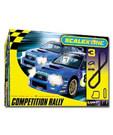scalextric subaru challenge scalextric subaru challenge competition rally cars and