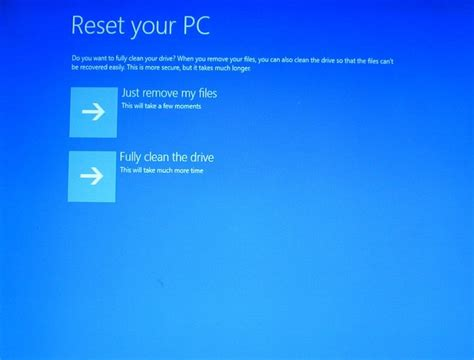 resetting windows desktop how to restore your windows computer to its factory