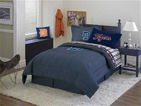detroit tigers bedroom detroit tigers bedding sheets comforter and bed linens