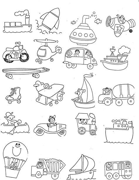 kindergarten activities on transportation transportation kindergarten nana