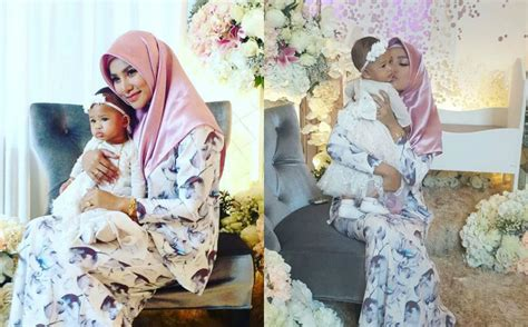 Baju Bayi Untuk Aqiqah azmi hatta tak datang elly mazlein urus majlis aqiqah anak sendirian terbakor