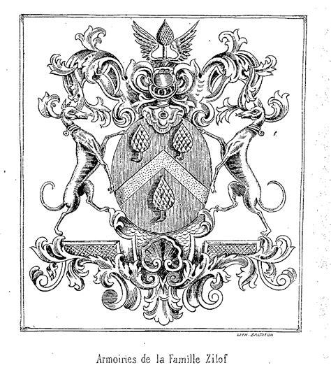 Armoirie De Famille by Armoiries De La Famille Zilof Westhoekpedia