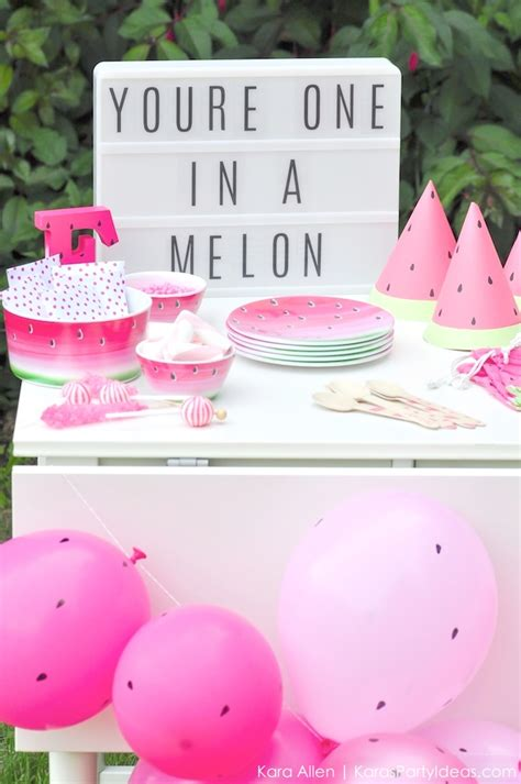 cute girl themes mobile9 kara s party ideas summer watermelon diy birthday party