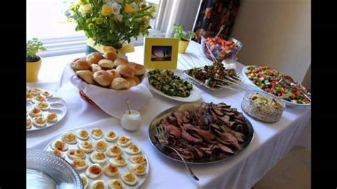 food ideas for couples wedding shower bridal shower food ideas