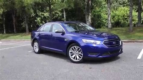2014 ford taurus limited 2014 ford taurus limited impact blue