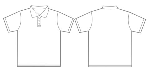 best photos of polo shirt template polo shirt outline