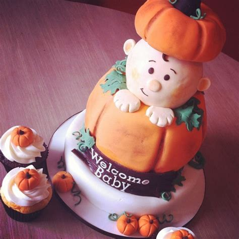Pumpkin Baby Shower Theme by Pumpkin Themed Baby Shower Cakecentral
