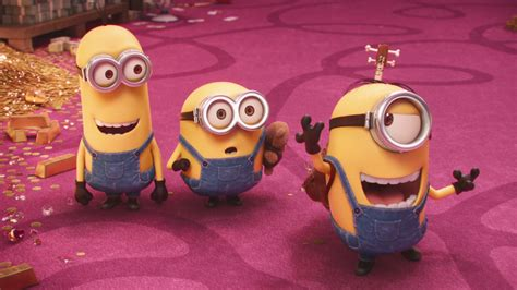 wallpaper minion pink follow me full hd wallpaper and background 1920x1080