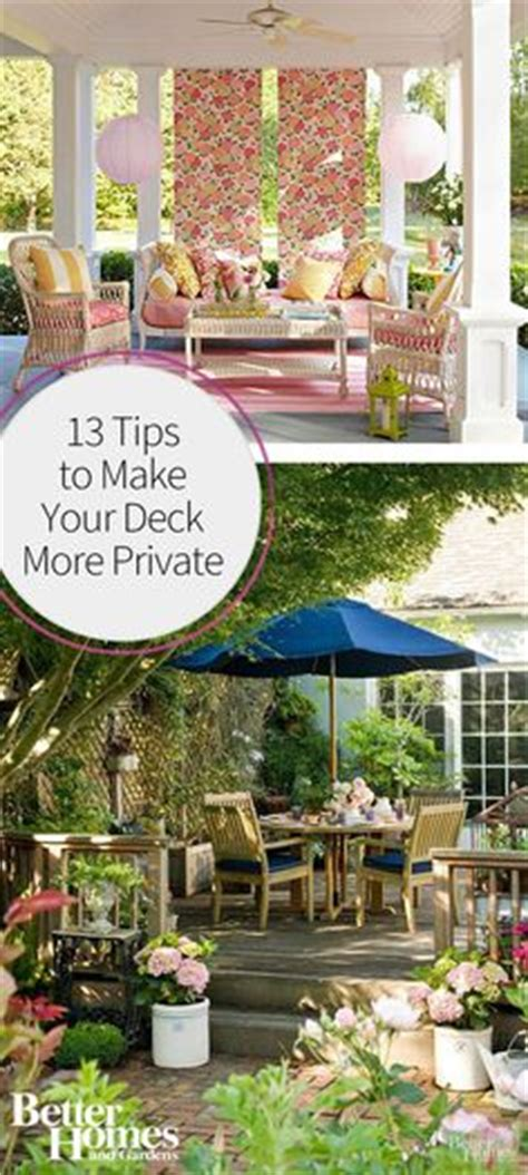 how to make backyard more private fence deck patio ideas on pinterest decks fence and