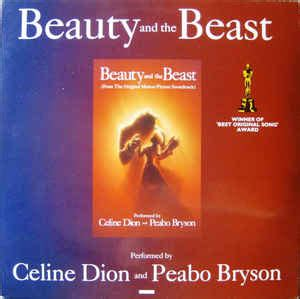 celine dion beauty and the beast song free mp3 download c 233 line dion peabo bryson beauty and the beast vinyl