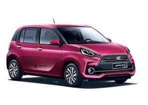 Daihatsu Myvi Third Generation 2018 Perodua Myvi Rendered