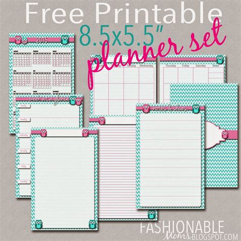 x small printable budget planner set sized 3 75x6 75 free printable half page owl planner set updated for 2017
