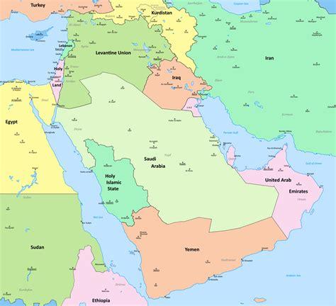 arabian peninsula political map arabian peninsula political map major tourist in