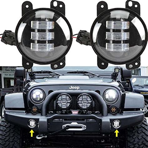 led boat bumper lights jeep wrangler jk parking lights and jeep fog lights jk