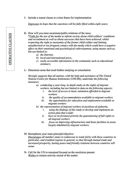 how to write a resolution paper resolution paper mun