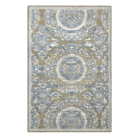 chesapeake rugs chesapeake merchandising chenille sunburst pattern multi 5 ft x 7 ft area rug 12531 the home