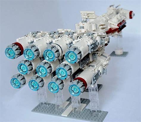 Lego Wars Boat my creation tantive iv blockaderunner lego
