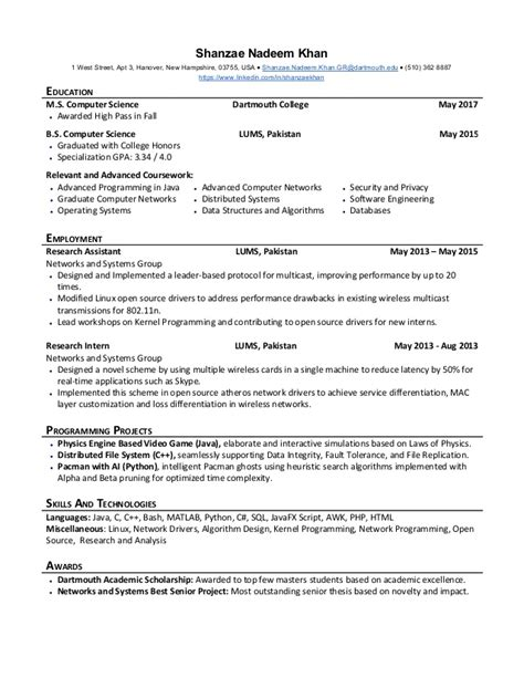 dartmouth cover letter dartmouth resume resume ideas
