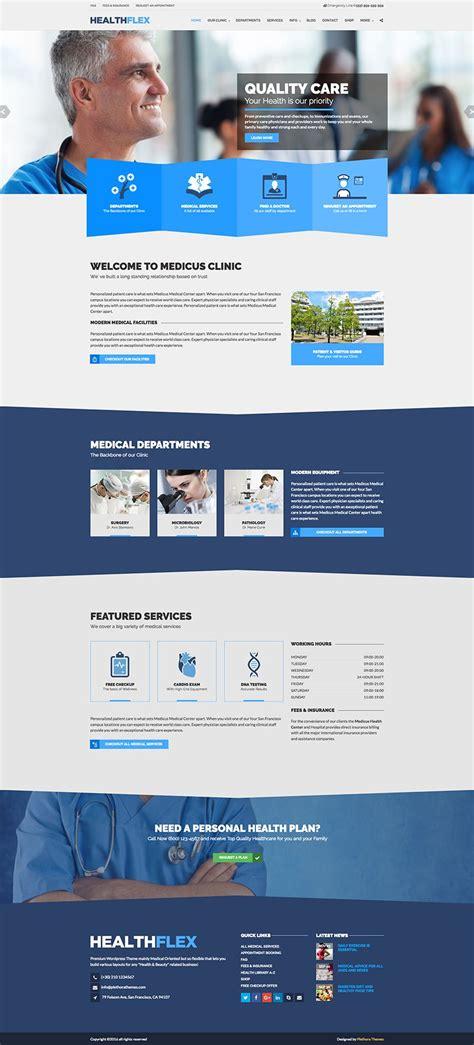 wordpress themes free medicine healthflex medical health wordpress theme wpexplorer