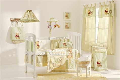 pooh nursery pooh in the field crib bedding