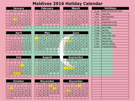 may 2016 islamic printable calendar with muslim holidays
