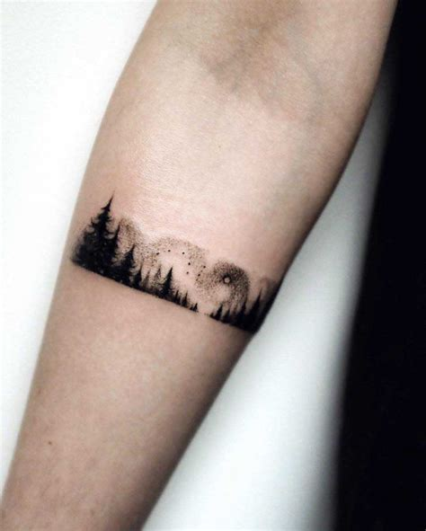 forearm band tattoo best 25 black band ideas on