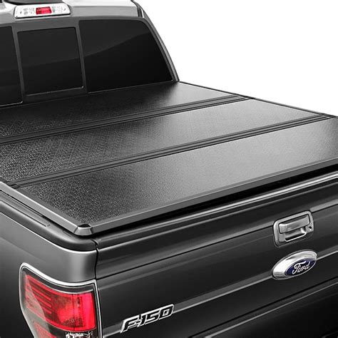 hard tri fold bed cover apg 174 ford f 150 styleside 2004 mhs hard tri fold tonneau