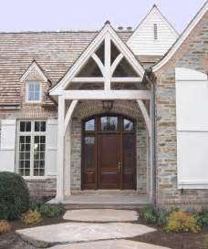 Architecture exterior column for houses with brick wall in country