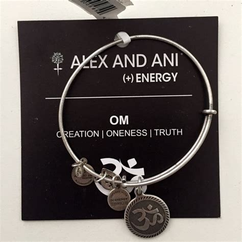 Alex And Ani Gift Card - alex ani nwt alex and ani om bracelet free brush box gift from elle s closet on