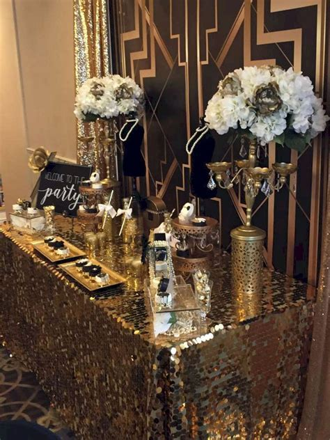 60  Awesome Decorations Great Gatsby party Ideas   30th BD