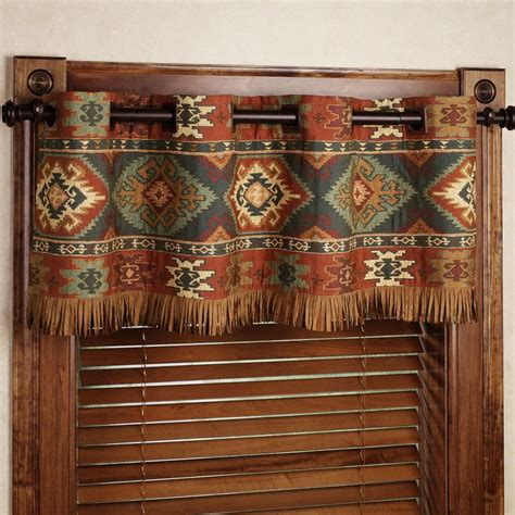 southwest style curtains 17 best ideas about rustic window treatments on pinterest