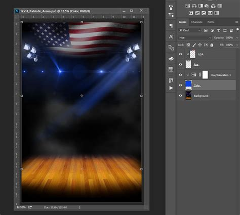 ready templates for photoshop patriotic indoor backgrounds
