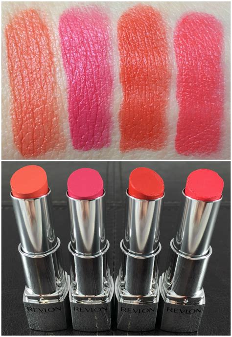 Lipstik Revlon Ultra revlon ultra hd lipstick swatch