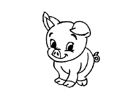 cartoon pig coloring pages cartoon coloring pages